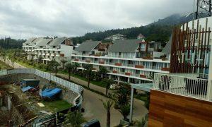 pesan kamar hotel | view kamar ke arah kota