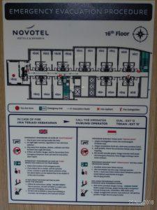 Denah dari kamar suite , ujung kiri / Pesankamarhotel.com