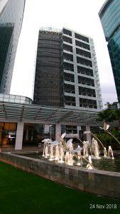 Taman utama hotel / Pesankamarhotel.com