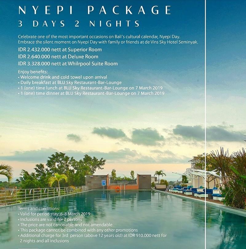 Paket NYEPI hotel Devin Sky